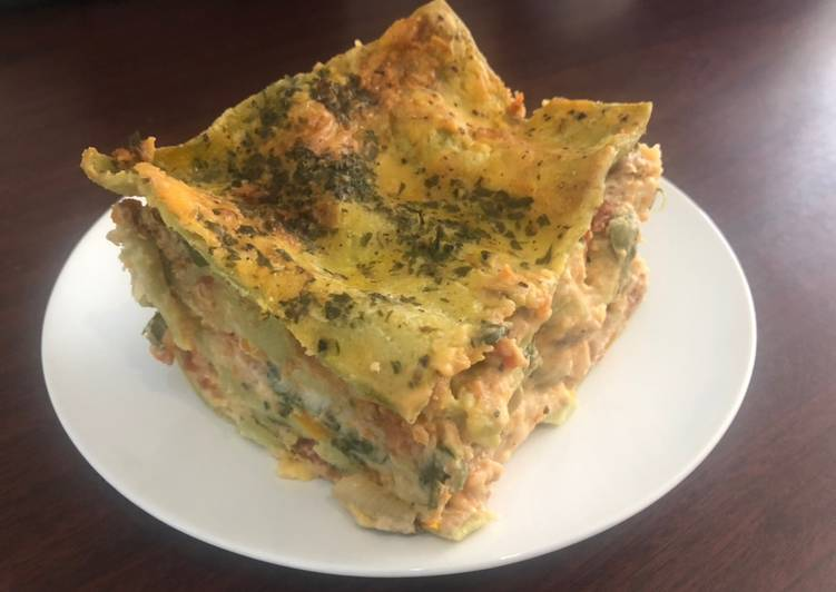 Spinach Lasagne - Laurie G Edwards