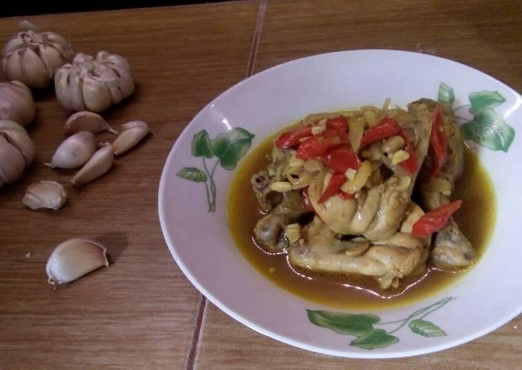 Ayam Masak Bumbu Tauco