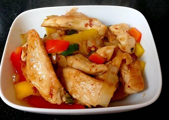 My Chinese Salt & Pepper Chicken Fry 🥰