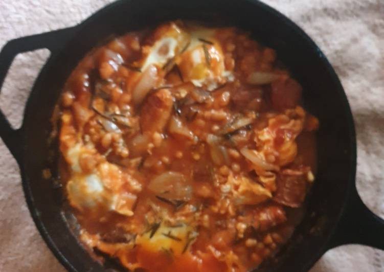 How to Make Favorite Chorizo Beans Eggs