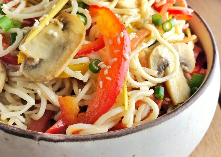 Stir-Fry Noodle Salad