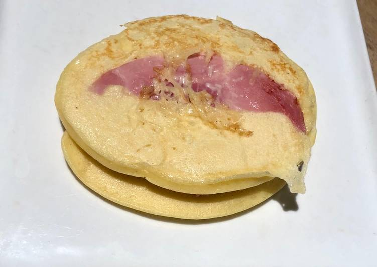 Comment faire Cuire Délicieuse Pancake salé