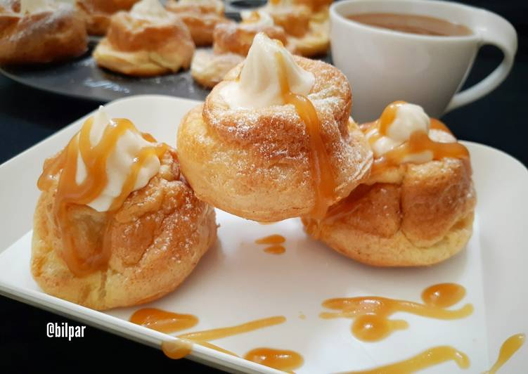 Recipe of Perfect Churro Donuts with Butterscotch Moose