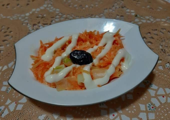 Rémoulade de carottes 🍴