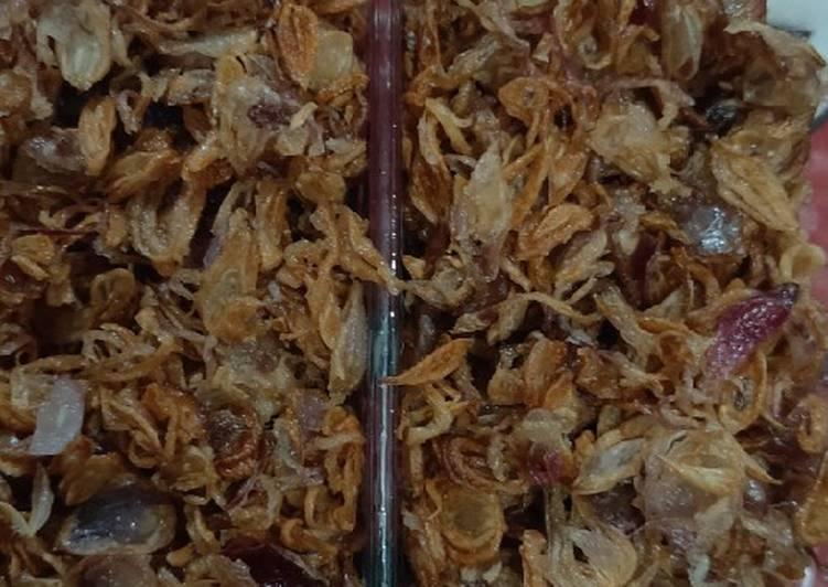 Bawang goreng gurih dan tahan lama