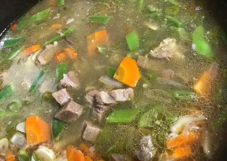 Resep Sop Daging Sapi Dan Sayuran Sempurna