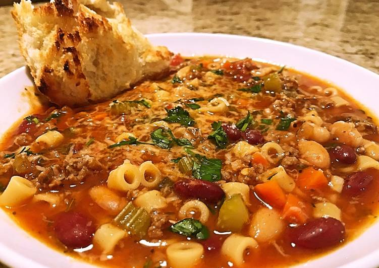 Easiest Way to Cook Perfect Pasta Fagioli