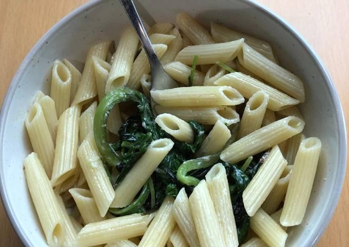 Recipe: Tasty Quick blue cheese pasta