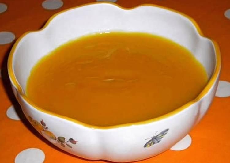 How to Prepare Appetizing Velouté de potimarrons et boisson végétale