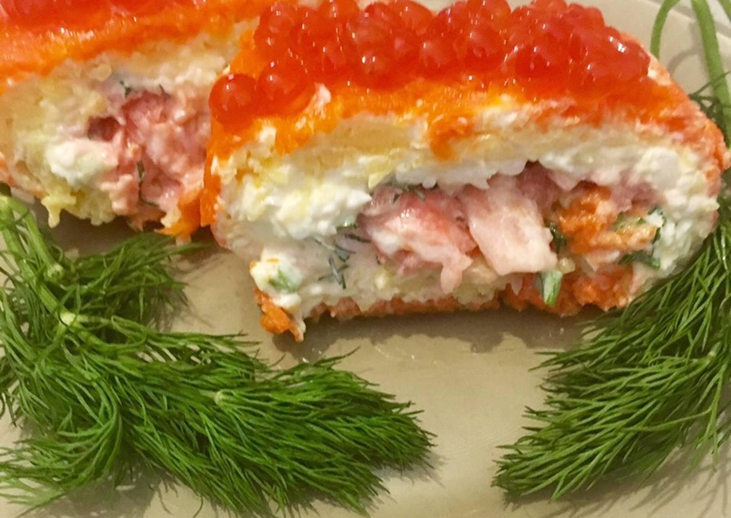 ирландские салат царский рецепт с фото пошагово длинные