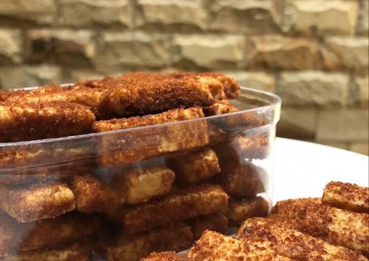 Kukis Gula Semut / Palm Sugar Cookies