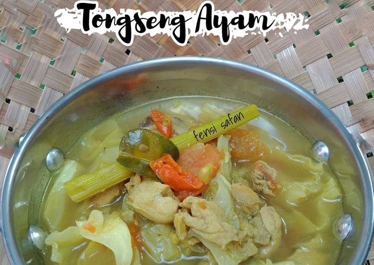 Tongseng Ayam (tanpa kecap)