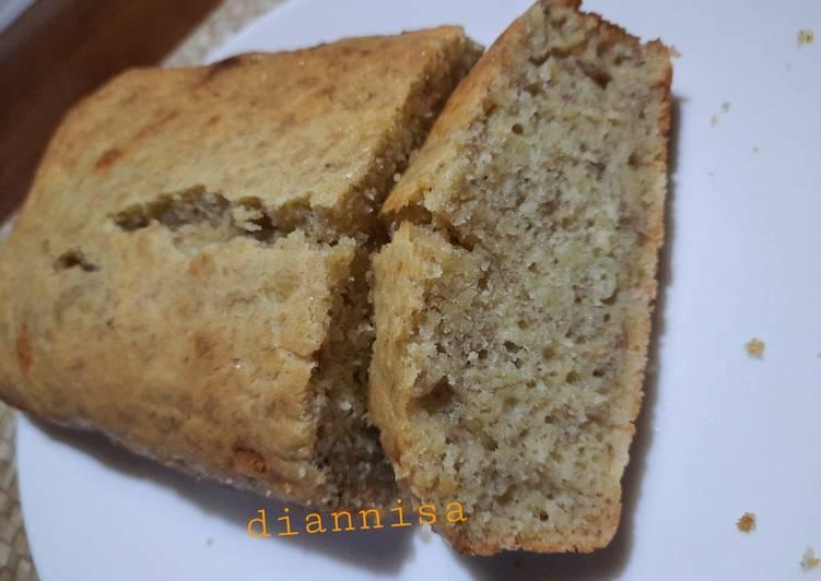 Cara Gampang Masak Banana Cake with yoghurt, Lezat Sekali