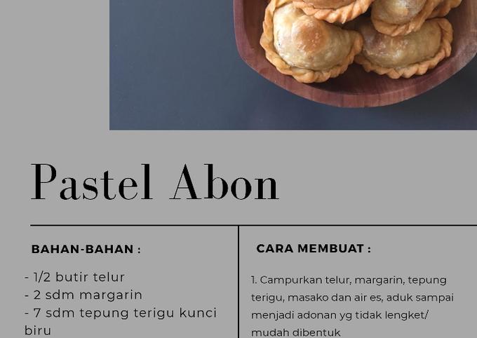 Pastel Abon Mini
