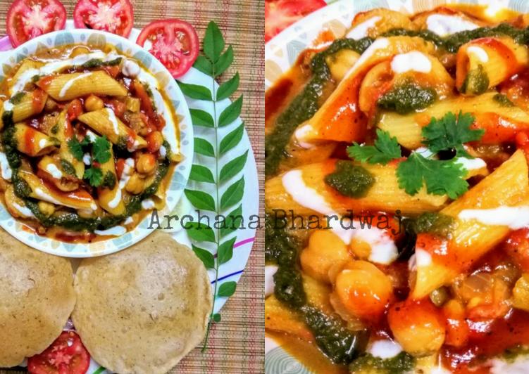 Raw Mango Pasta Curry