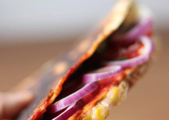 Tortilla wrap hack 🍕