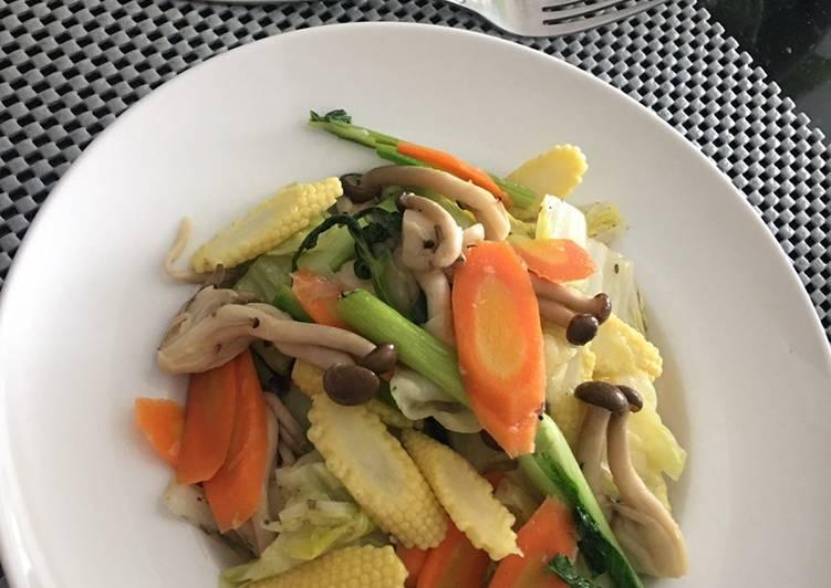 Resep Tumis sayuran (Capcay) Yang Mudah Dijamin Ngiler