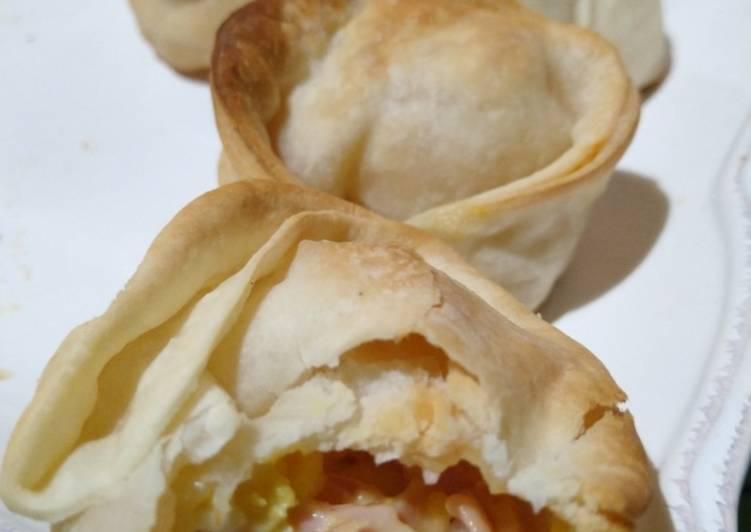 Empanadas De Jamón Y Queso Receta De Estefania Cookpad