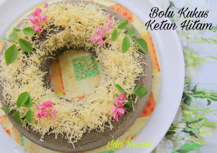 Bolu Ketan Hitam Kukus - cookandrecipe.com