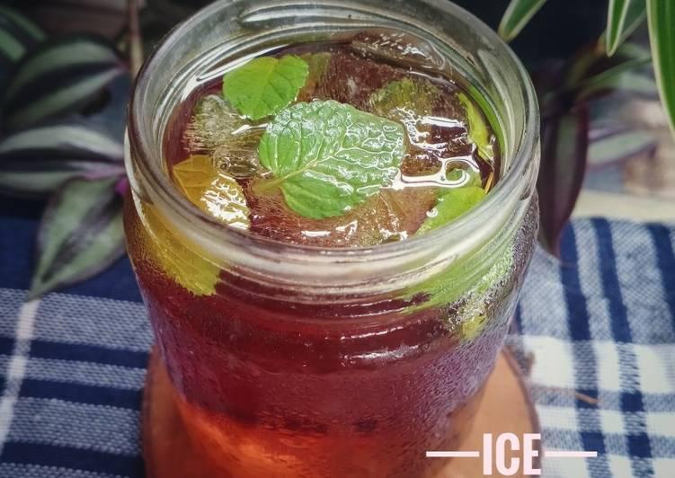 Ice Mint Tea