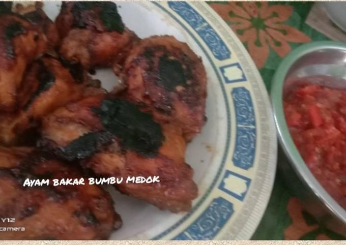 Ayam bakar bumbu medok