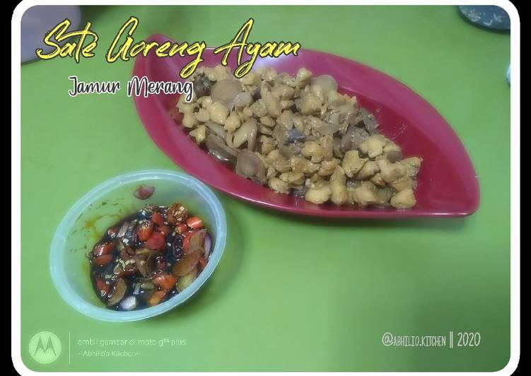 27. Sate Ayam Jamur Merang - cookandrecipe.com