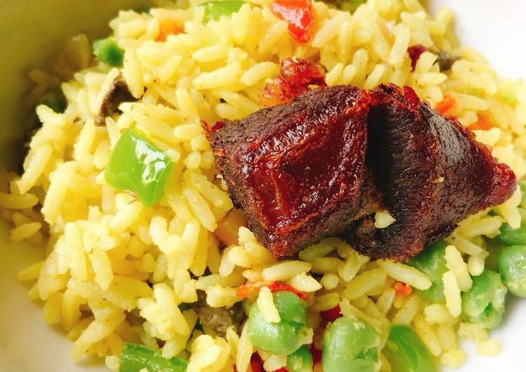 25 Minute How to Make Blends Fried rice and fried beef