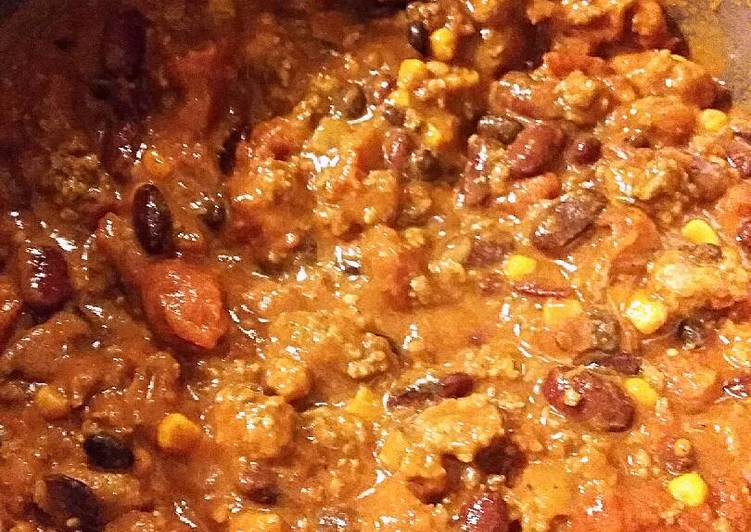 Simple Way to Make Speedy Beef & Chorizo Chili