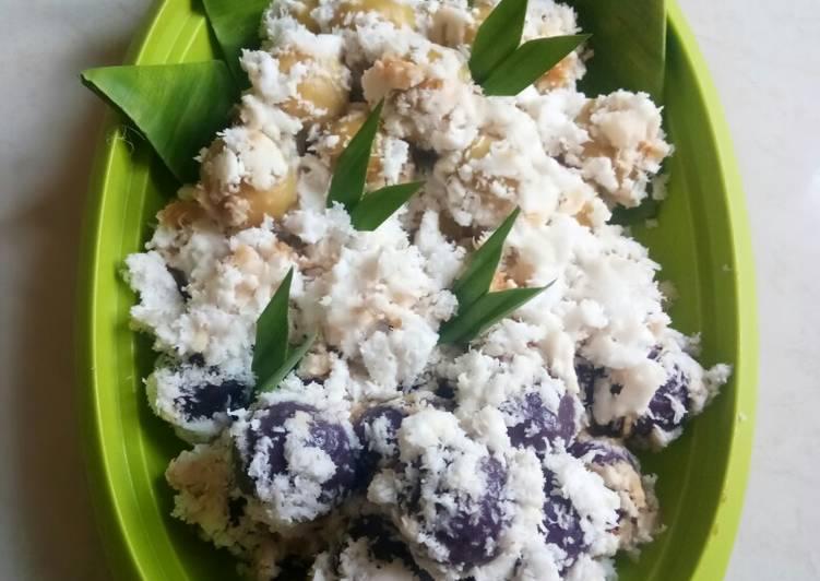 Resep Klepon ubi ungu dan madu…menul…menul..😅