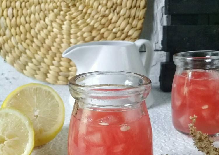 Jus semangka cincang