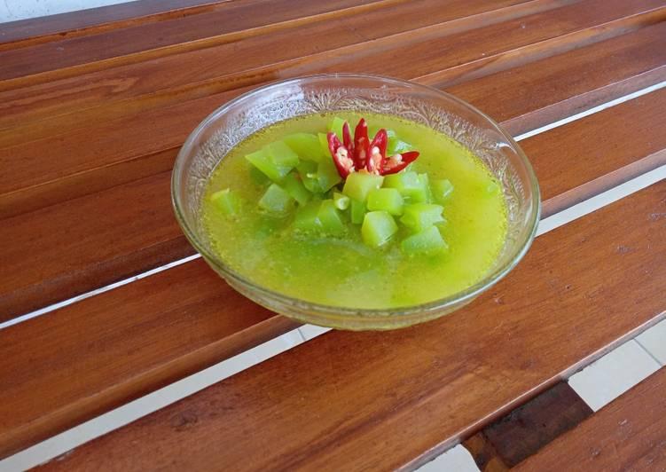 Acar kuning Labu Siam - cookandrecipe.com