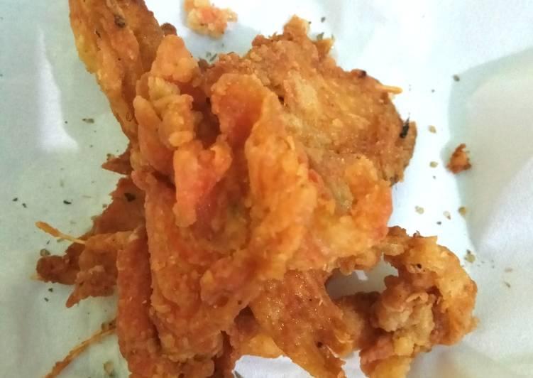 Salmon Skin ala resto