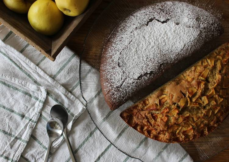 Comment faire Cuire Appétissante Gâteaux bi-goûts, moelleux chocolat, moelleux pommes