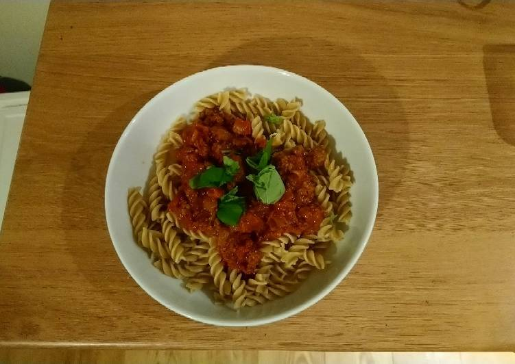 Simple Way to Prepare Ultimate Pasta and bolognese