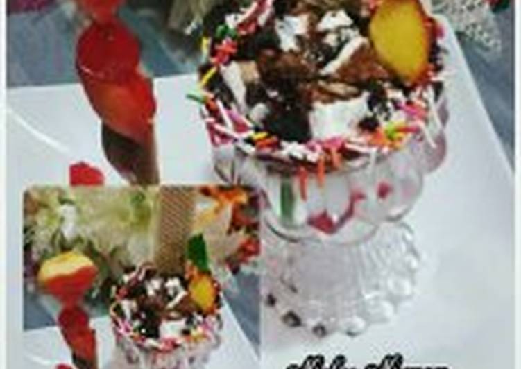 Chocolate creamy dessert