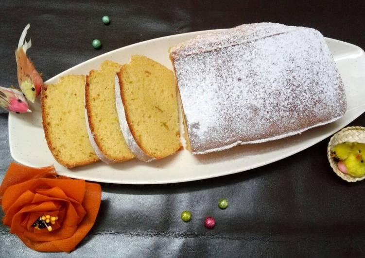 15 Minute Simple Way to Prepare Autumn Orange Pound Cake
