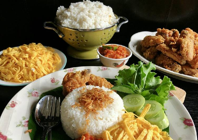 Resep Nasi Uduk Rice Cooker Oleh Cooking With Sheila Cookpad