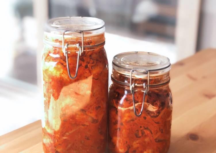 Recipe of Homemade Homemade Kimchi in Switzerland!