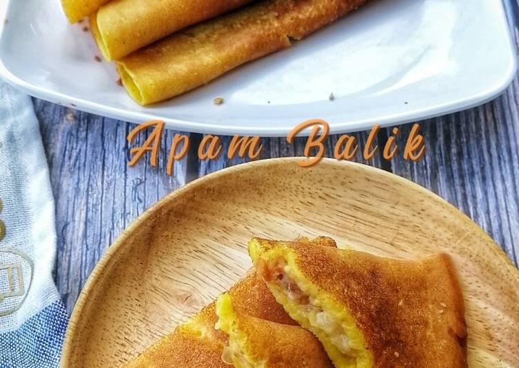 Apam Balik Homemade - resepipouler.com
