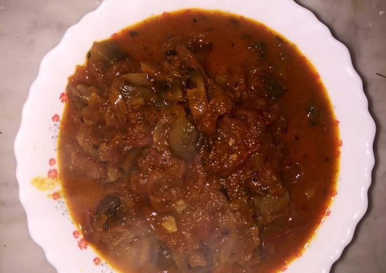 Mushroom semi gravy 🍄