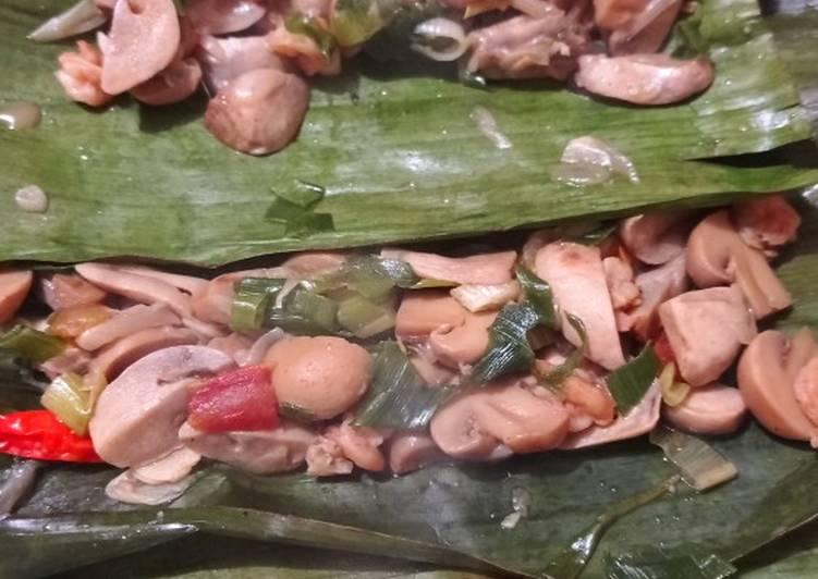 Cara Menyiapkan Pepes Jamur udang yang Harus Dicoba