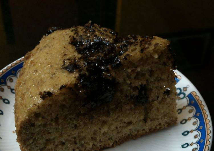 Chocolate chips oatmeal cake perfect for evening snacks :)