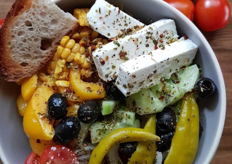 Greek-Salad All in