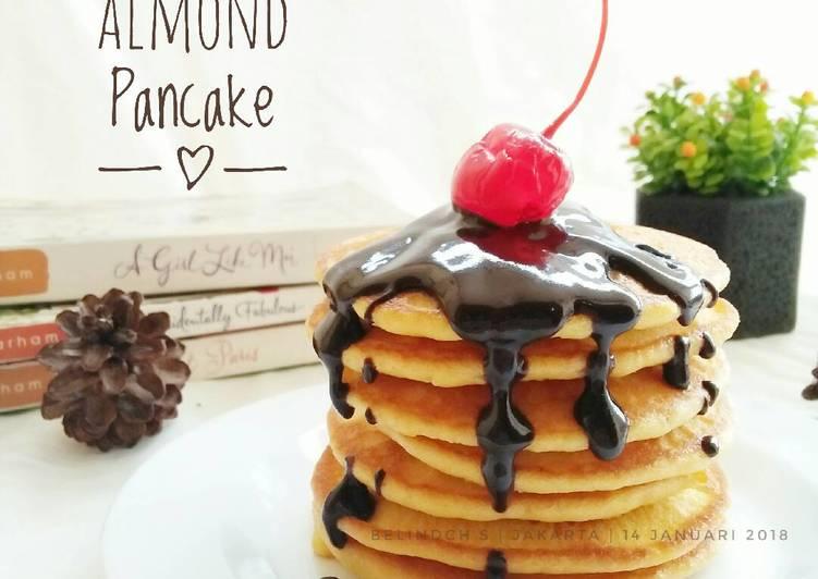 Almond Flour Pancake ala DEBM