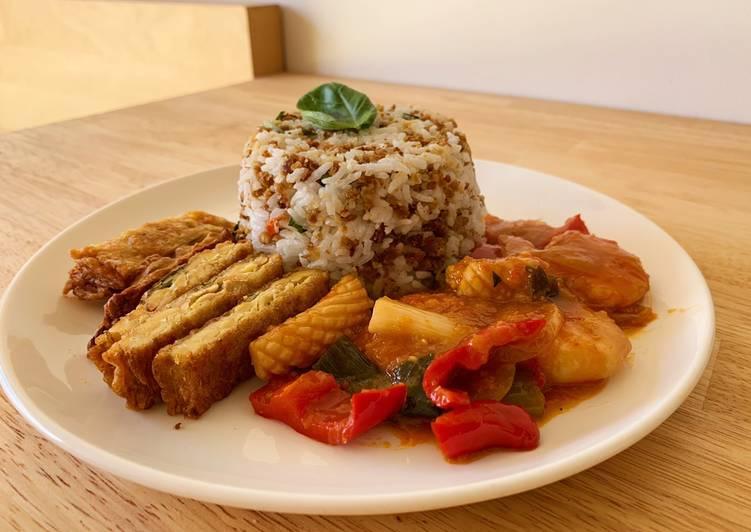 Nasi tutug oncom untuk yang tidak biasa makan oncom
