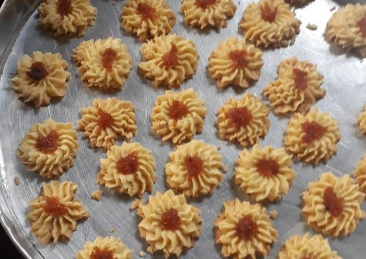 Cookies mawar / semprit mawar