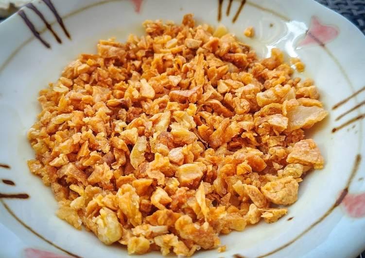 Fried Minced Garlic