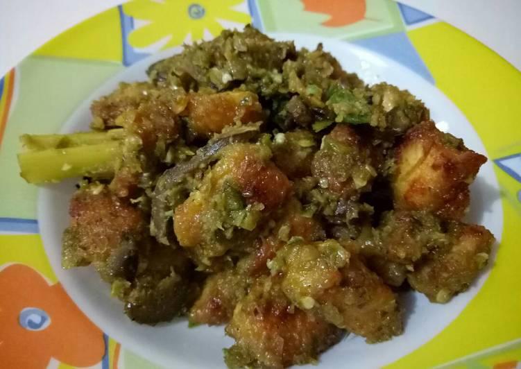 Resep Ayam Goreng Cabe Hijau, Enak