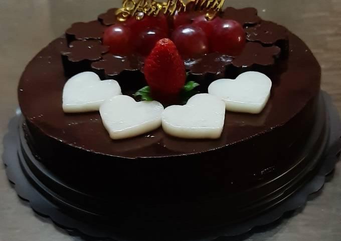 Simple Dark Chocolate Pudding