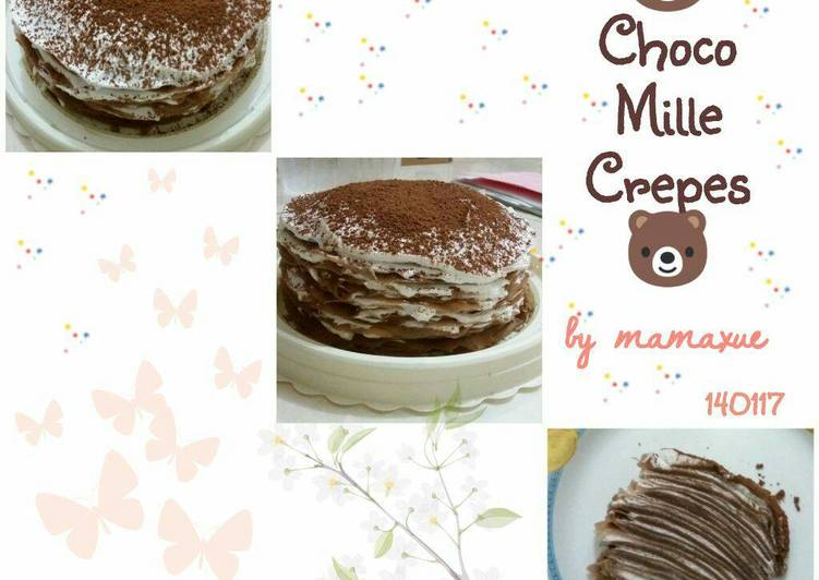 Choco Mille Crepes